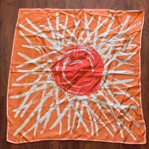 Bonwit Teller 100% silk scarf